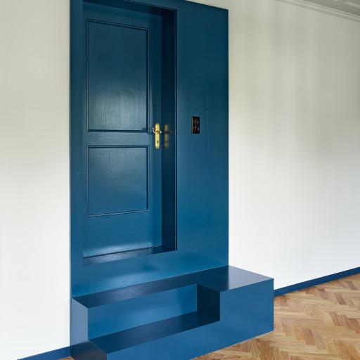 Villa Lenzburg, Innenausbau studio boa, Martin Arnold, 2018